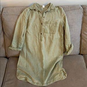 Old navy Forrest green dress